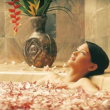 Цветочные ванны